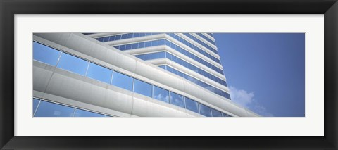 Framed Low angle view of an office building, Dallas, Texas, USA Print