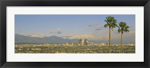 Framed Los Angeles CA Print