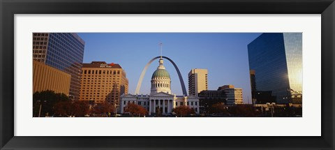 Framed Buildings in St. Louis MO Print