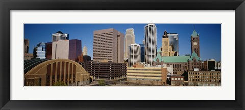 Framed Downtown Minneapolis MN Print