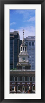 Framed Independence Hall PA Print