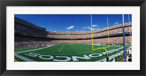 Framed Mile High Stadium Print