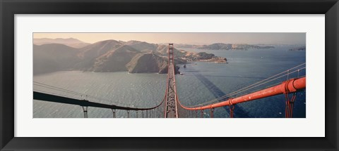 Framed Golden Gate Bridge California Print