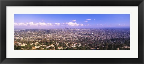 Framed Cityscape, Los Angeles, California, USA Print