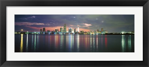 Framed USA, Florida, Miami Print