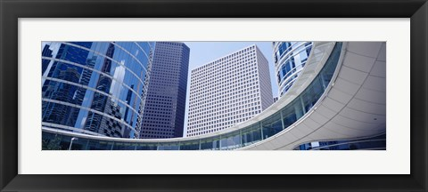 Framed Enron Center, Houston, Texas Print