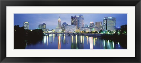 Framed Columbus OH Print