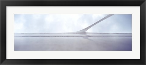Framed Low angle view of an arch, Gateway Arch, St. Louis, Missouri Print