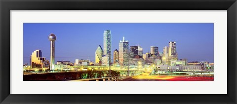Framed Dallas Texas USA Print