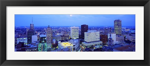 Framed Evening, Buffalo, New York State, USA Print