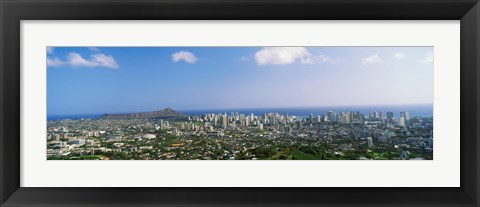 Framed Honolulu, Hawaii Print
