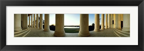 Framed Jefferson Memorial Washington DC Print