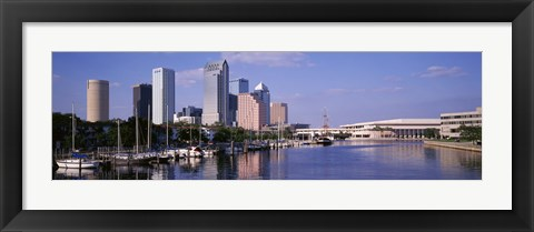 Framed USA, Florida, Tampa Print