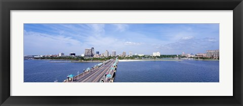 Framed St Petersburg FL Print