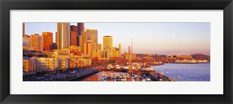 Framed Seattle Washington USA Print