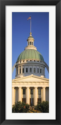 Framed US, Missouri, St. Louis, courthouse Print