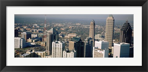Framed Skyscrapers in Atlanta, Georgia, USA Print