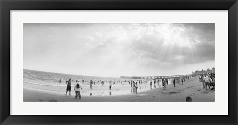 Framed Coney Island, Brooklyn, New York City Print