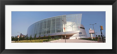 Framed View of the BOK Center, Tulsa, Oklahoma Print
