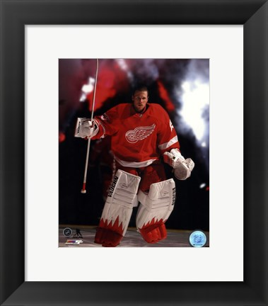 Framed Jimmy Howard 2013-14 Action Print