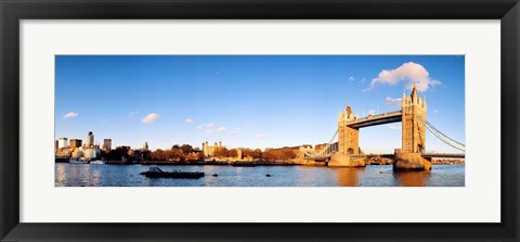 Framed Tower Bridge, London, England, United Kingdom Print