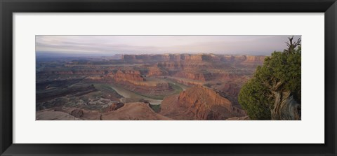Framed High Angle View Of An Arid Landscape, Canyonlands National Park, Utah, USA Print