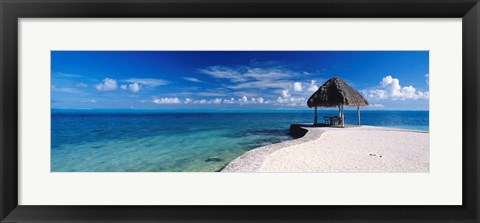 Framed Bora Bora Point Bora Bora Print