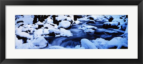 Framed Winter Yosemite National Park CA Print