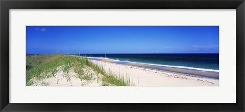 Framed Cape Hatteras National Park, Outer Banks, North Carolina USA Print