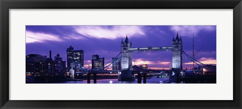 Framed Tower Bridge, Landmark, London, England, United Kingdom Print