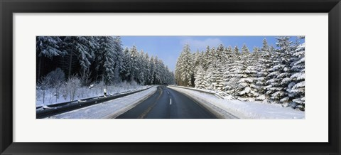 Framed Road, Hochwald, Germany Print