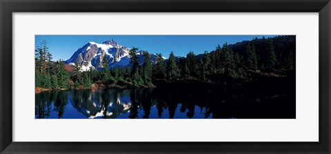 Framed Mount Shuksan North Cascades National Park WA Print