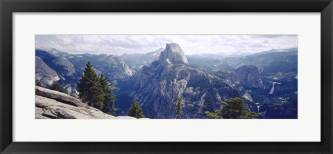 Framed Half Dome High Sierras Yosemite National Park CA Print