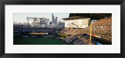 Framed Stands in SAFECO Field Seattle WA Print