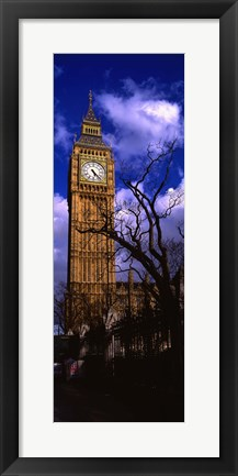 Framed Low Angle View Of Big Ben, London, England, United Kingdom Print