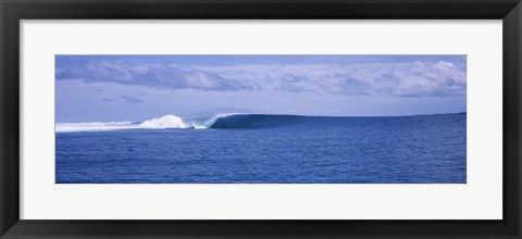 Framed Waves in the sea, Indonesia Print