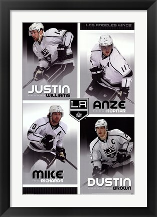 Framed Los Angeles Kings® - Team 13 Print