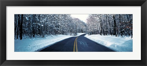 Framed Metro Park Road OH USA Print