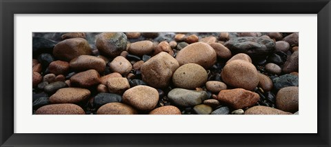 Framed Rocks Acadia National Park ME USA Print