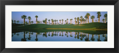 Framed Golf Course Marriot's Palms AZ Print