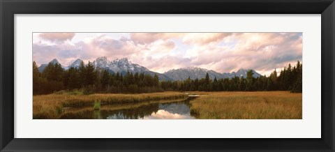 Framed Grand Teton National Park WY USA Print