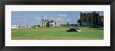 Framed Silican Bridge Royal Golf Club St Andrews Scotland Print