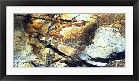 Framed Rock Wasatch National Forest UT USA Print