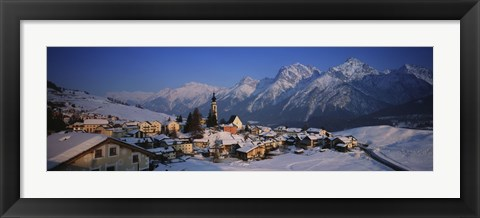 Framed Switzerland Print