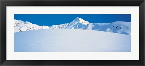 Framed Chugach Mountains Girdwood, Alaska, USA Print