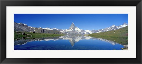 Framed Matterhorn Zermatt Switzerland Print