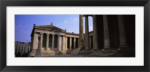 Framed Facade of a building, University Of Athens, Athens, Greece Print