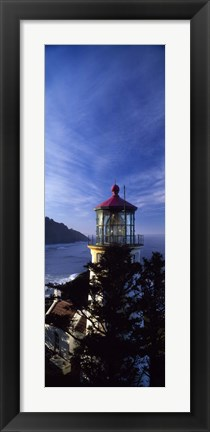 Framed Heceta Head Lighthouse, Oregon Print
