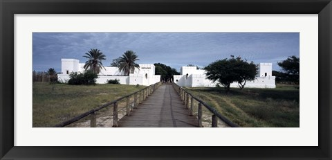 Framed Lodge, Fort Namutoni, Etosha National Park, Kunene Region, Namibia Print