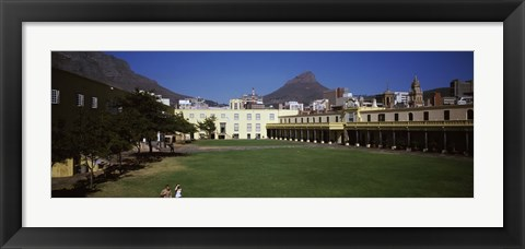 Framed Courtyard of a castle, Castle of Good Hope, Cape Town, Western Cape Province, South Africa Print